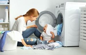 Как да използвате белина в прането